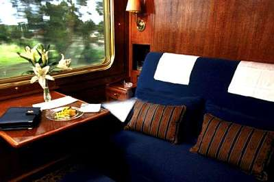 Double De Luxe Suite Salon Photo Blue Train