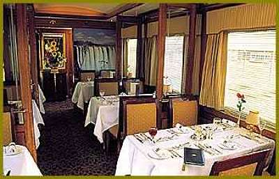 Voiture Restaurant Photo Blue Train