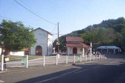 au depart de gare st