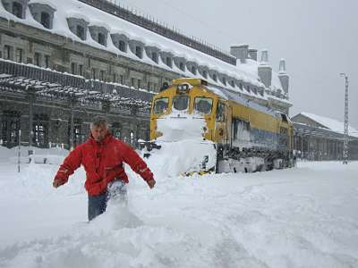 Gare de Canfranc Mars 2009 (Photo J; Diaz)