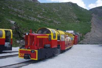 Petit train d'Artouste Locomotive